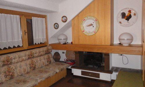 Trilocale Montecampione 150038 soggiorno