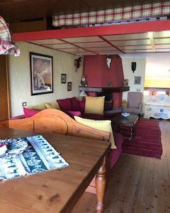 Quadrilocale 150140 Montecampione soggiorno