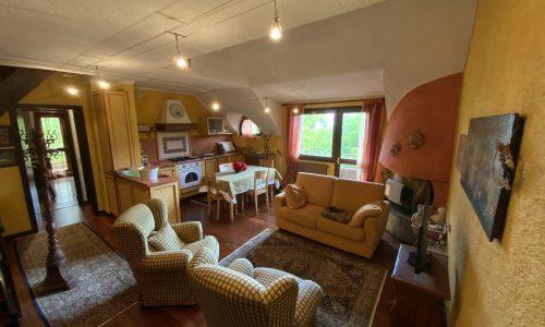 Trilocale Montecampione 150074 soggiorno