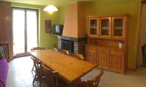 Trilocale Montecampione 150185 soggiorno